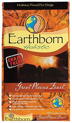 Earthborn Holistic Great Plains Feast Grain Free Dry Dog Food, 14 Lb.