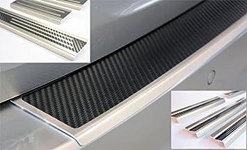 Carbon Ladekantenschutz und Einstiegsleisten Nissan Qashqai J11 Carbonfolie