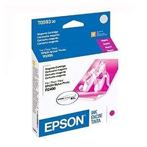 Epson Brand Stylus R2400 Standard Magenta Ultra Ink - T059320
