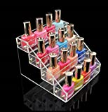 1-Pc Magnificent Popular Hot Nails Polish Organizer Layers Holder Storage Makeup Travel Case Color Transparent 4 Tier Style #07