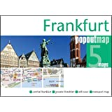 Frankfurt PopOut Map - handy pocket-sized city map of Frankfurt (PopOut Maps)