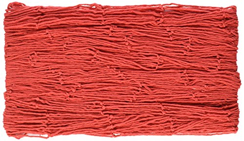 Beistle 50301-Red Decorative Fish Netting, 4 by 12-Feet