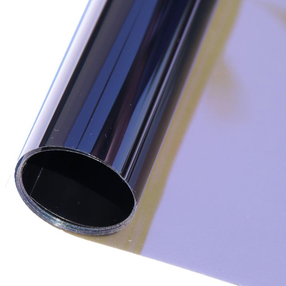 HOHO VLT25% Chameleon Car Front Side Window Film Change Color Car Window Nano Ceramic Tint Foils 50cmx100cm