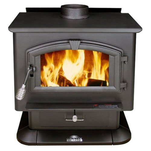 - US Stove 2000 EPA Certified Wood Stove, Medium