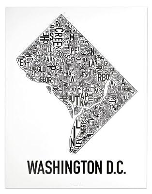 Washington DC Neighborhoods Map