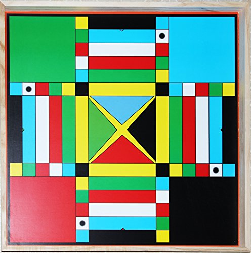 Benjamin Products Jamaican Ludo Ludi 2ft X 2ft Game