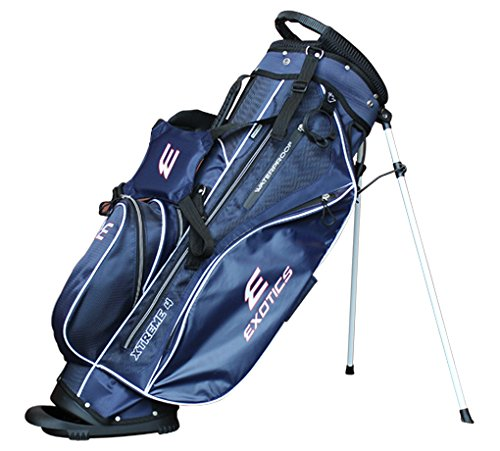 Tour Edge Exotics Extreme 4 Stand Bag 2018 Navy by Tour Edge