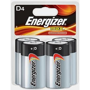 Amazon.com : Energizer D Cell Alkaline Battery - 20500 mAh