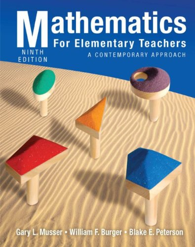 Download Mathematics for Elementary Teachers: A Contemporary Approach, 9th Edition Pdf