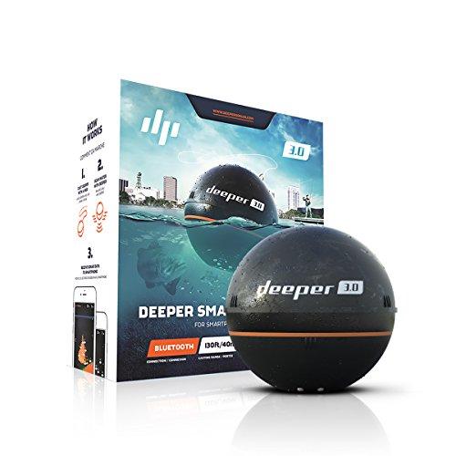 【日本正規代理店品・保証付】Deeper 3.0 ワイヤレススマート魚群探知機(Bluetooth) Wireless Fishfinder FRI-BT-000002の商品画像