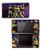 Teenage Mutant Ninja Turtles TMNT Leonardo Raph April Splinter Leo Cartoon Movie Video Game Vinyl Decal Skin Sticker Cover for Original Nintendo 3DS System