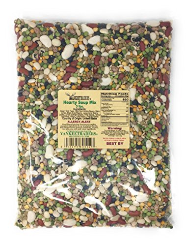 Yankee Traders, Hearty Soup Mix, 3 Pound ()