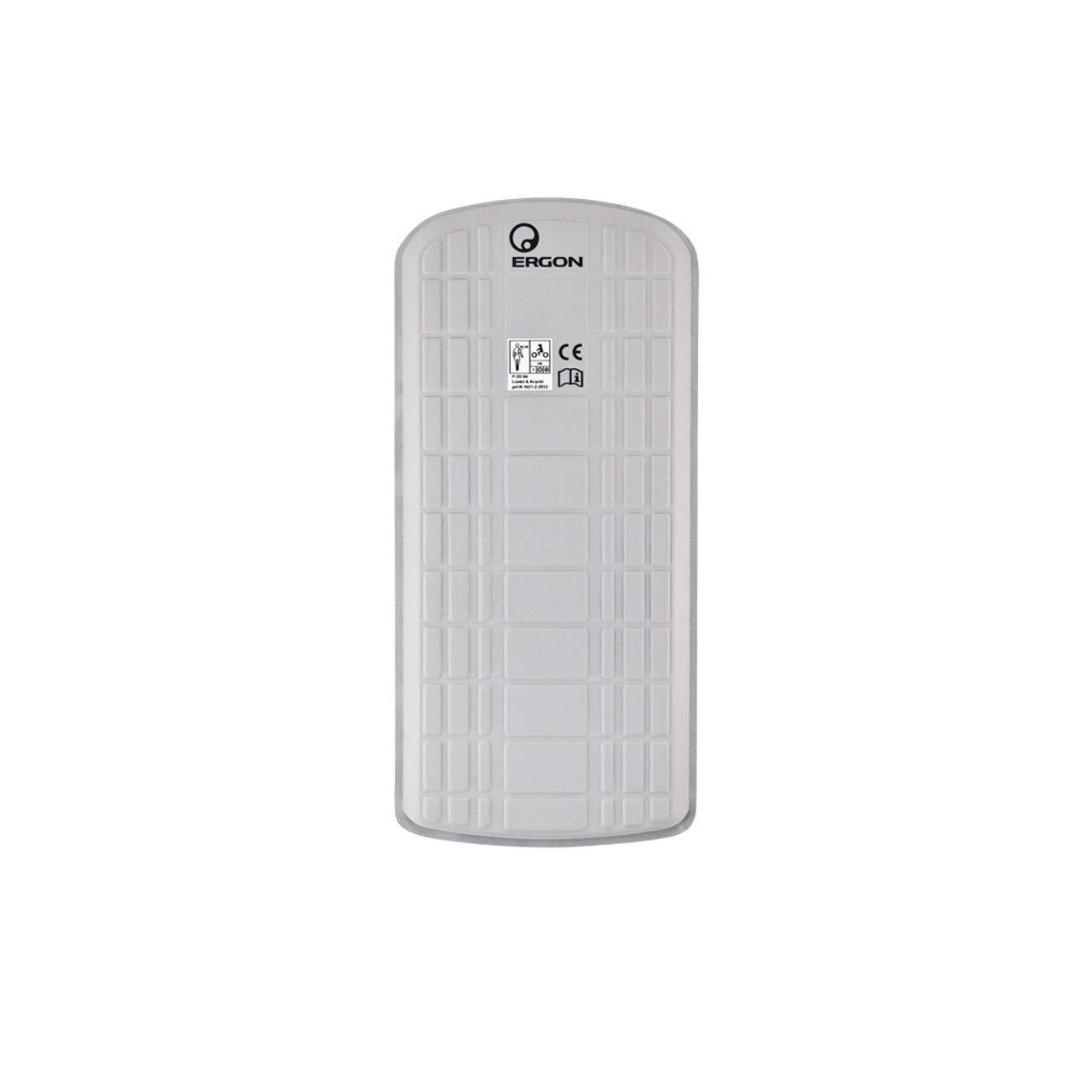 M Protector Dorsal para Adultos Unisex Color Blanco Ergon BP100
