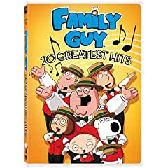 Sing Along with Family Guy 20 Greatest Hits arriving on DVD and Digital January 8th from Fox