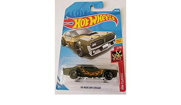 Hot Wheels '68 Mercury Cougar HW Flames 2//10 Long Card USA NEU