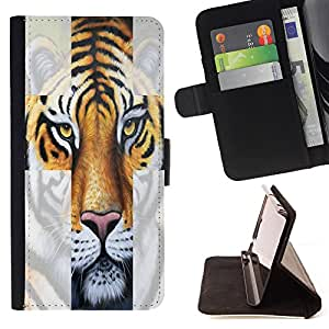 Dragon Case - FOR Samsung Galaxy S3 MINI 8190 - How are you today - Caja de la carpeta del caso en folio de cuero del tir¨®n de la cubierta protectora Shell