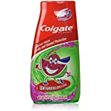 Colgate Kids 2 In 1 Toothpaste & Mouthwash, Watermelon Flavor, 4.6 oz (130 g)
