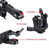 TecUnite 2 Pairs of Mobile Game Controller Sensitive Shoot and Aim Buttons L1R1 for PUBG, Rules of Survival, Knives Out, PUBG Mobile Game Joystick, Cell Phone Game Controllers for Android iOS