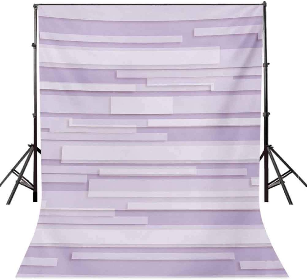 Modern 8x10 FT Photo Backdrops,Contemporary Artistic Stone Like Linear Band Motif in Pastel Tones Work of Art Background for Photography Kids Adult Photo Booth Video Shoot Vinyl Studio Props