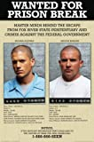 Prison Break - Wanted 24'x36' Art Print Poster