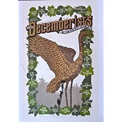 The Decemberists - Twilight in the Fearful Forest Tour 2007 - Tour Advertising Poster - 10x14