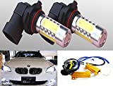 98 prelude fog lights - ICBEAMER LED 9006 HB4 12V 11W Fit: Fog Light Plasma Projector bulbs w/No Error Decoder