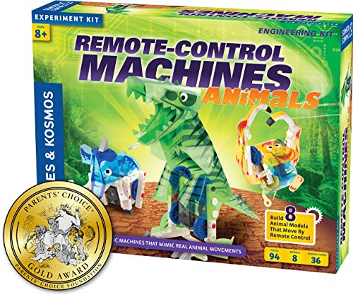 Robotic Animals - Thames & Kosmos Remote-Control Machines: Animals Science Kit