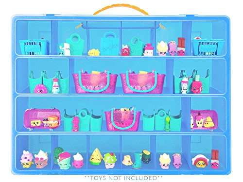 Life Made Better Shopkins Case, Toy Storage Carrying Box. Figures Playset Organizer. Accessories For Kids by LMB