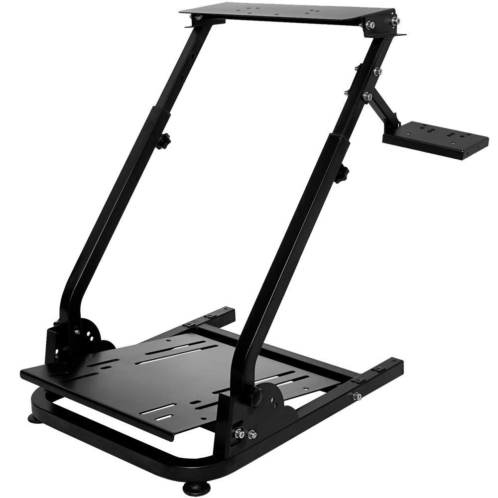 CINGO Wheel Stand Height Adjustable for Logitech G25, G27, G29, G920 Racing Steering Wheel Stand Gaming Racing Simulator Wheel and Pedals Not Included by CINGO