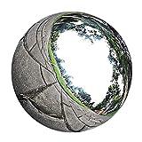 D DOLITY Stainless Steel Gazing Ball Seamless Mirror Balls Sphere Hollow for Outdoor Garden Ornament Decoration ( 12cm/ 13.5cm/ 15cm / 18cm / 20cm Optional) - 13.5cm