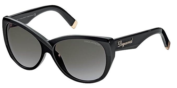 Gafas de sol DSQUARED DQ0084 01B: Amazon.es: Ropa y accesorios