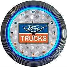 Neonetics Ford Trucks Neon Wall Clock, 15-Inch