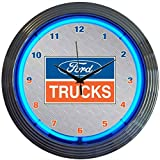 Automotive : Neonetics Ford Trucks Neon Wall Clock, 15-Inch