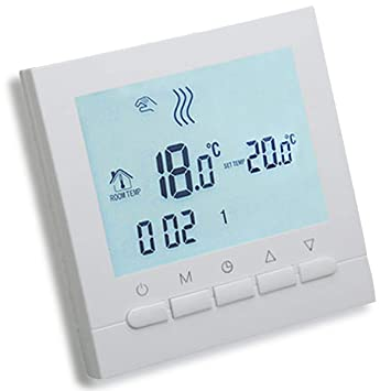 AVStar - Termostato inteligente programable para calefacción de ...