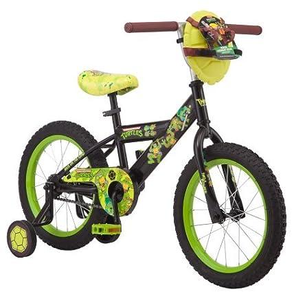 amazon com tmnt 16 boy s teenage mutant ninja turtle bike