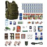 Extreme Deluxe Survival Kit Four For Earthquakes, Hurricanes, Floods, Tornados, Emergency Preparedness
