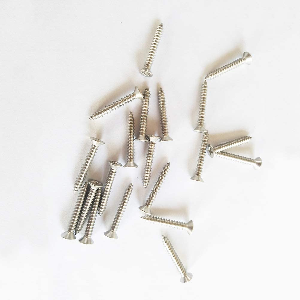 Silver 110pcs//set 316 Stainless Steel Hook Eye Turnbuckle Kit Wire Rope Tension Kit