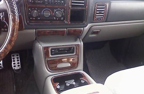 Chevrolet Chevy Tahoe Interior Wood Dash Trim Kit Set 2000