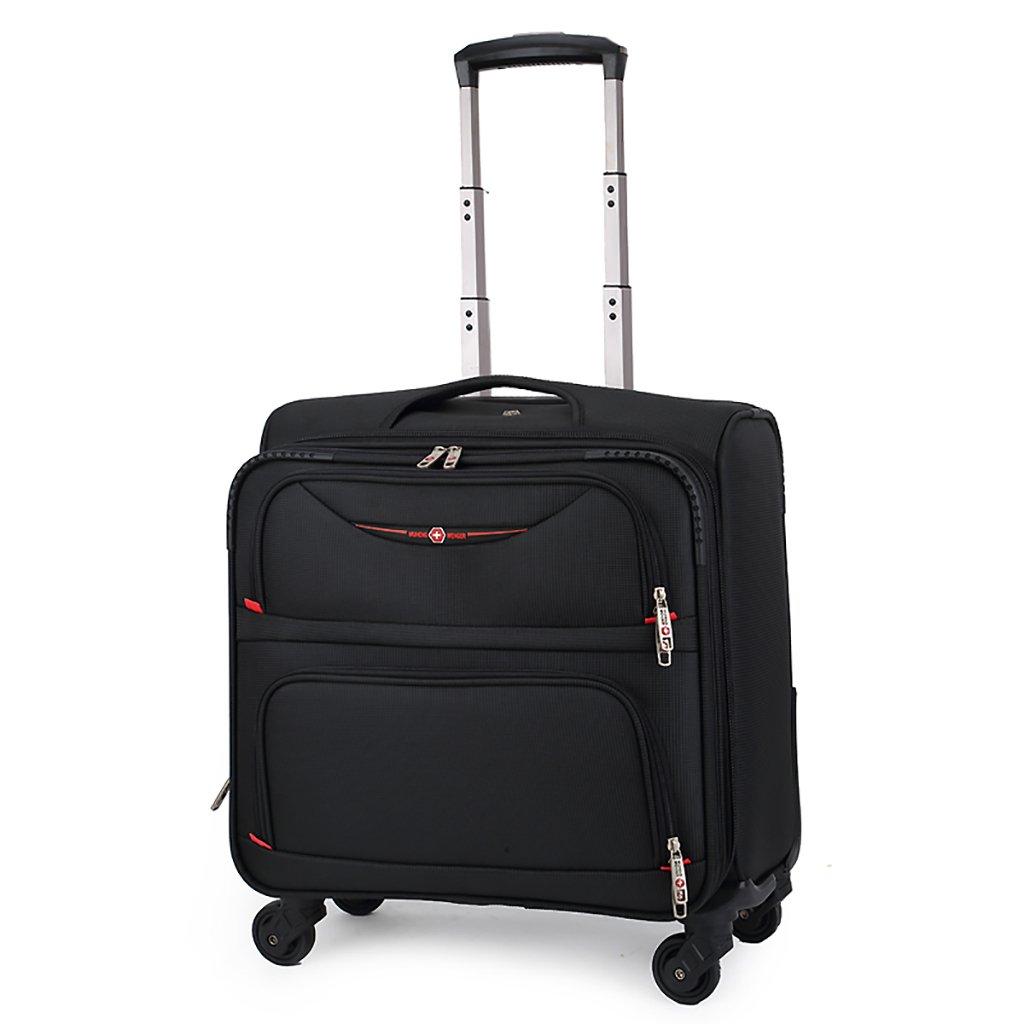 スーツケース トロリーケース4輪車輪出張旅行屋外トロリーバッグ大容量ライトトラベルバッグトラベルバッグドラッグバッグハンドバッグトランク旅客ボックス (色 : D)   B07FMD8XP8