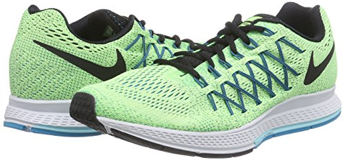 220d266e13e9 Nike Men s Air Zoom Pegasus 32 Ghost Green Black Copa Bl Lgn Running