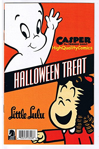 CASPER and LITTLE LULU HALLOWEEN, Promo,ashcan,2009, NM]()