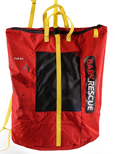 Ladder Rescue - Baby Rescue Emergency Rapid Evacuation Device - Red
