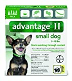 Advantage for Dogs 2-10 lbs, 4 - .4 ml tubes
