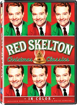 red skelton christmas in color also includes the original black and white - Black And White Christmas Movies