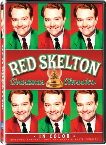 Red Skelton Christmas Black White product image