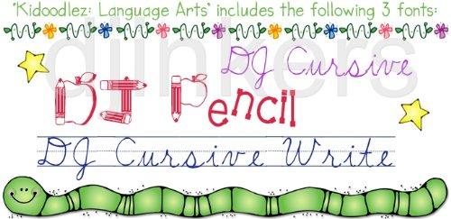 Amazon.com: Kidoodlez: Language Arts Clip Art CD