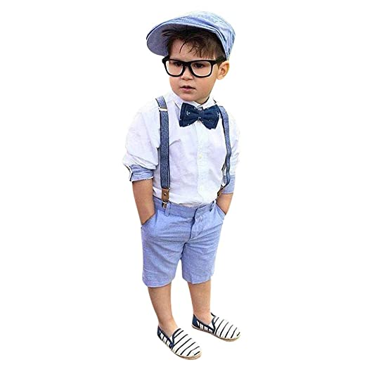 9f785214 Amazon.com: Baby Toddler Boys Clothes Dot Print Tops Short Pants Summer  Outfits Set T-Shirt and Shorts 2PCs Outfits Set: Clothing