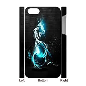 C-Y-F-CASE DIY Sparkle Angry Dragon Pattern Phone Case For Iphone 4/4s