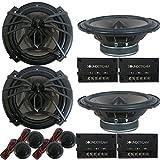 Best Car Audio Component Speakers - 4 x Soundstream AC.6 Arachnid Series 6.5 inch Review