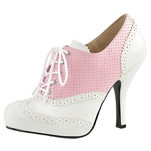 Heels-Perfect - Cerrado Mujer Rosa (Rosa)